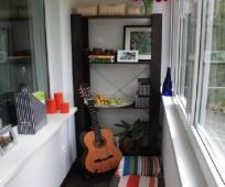 Комната для подростка на балконе