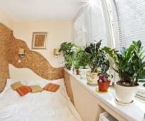 Вынос кровати на присоединенный балкон