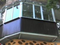 Ремонт балконной плиты нестандартной формы