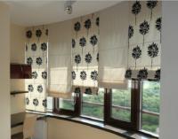Идея для штор на балконе