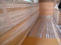 Утепление пола и стен балкона